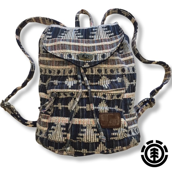 """ELEMENT fabric backpack   5""""D x 12""""W x12""""H approx."""